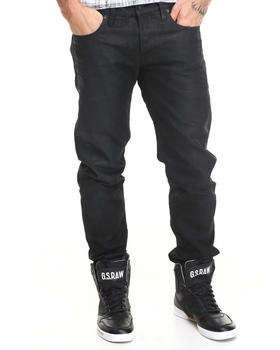 G-STAR - 3301 Low Tapered Wax Finish Jean