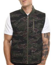 The Skate Shop - Tiger Camo Reversible Vest