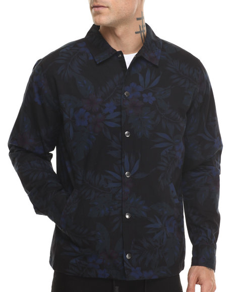 HUF - Midnight Floral Coaches Jacket