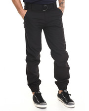 Men - Belted Rip - Stop Twill Joggers