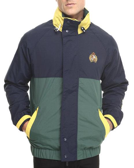 Huf - Men Green,Navy Atlantic Jacket