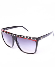 Women - Flat Top Stud Trim Sunglasses