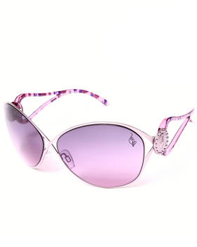 Baby Phat - Shiek Gradient Cut-Out Arm Sunglasses