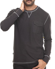 Men - Slub Jersey L/S Crewneck Shirt