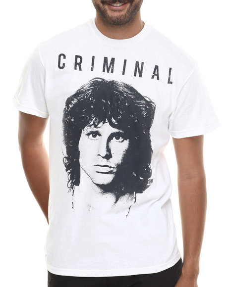 Graf-X Gallery White The Doors Criminal S/S Tee