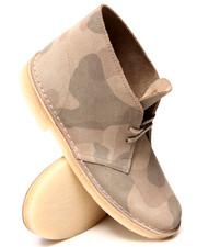 Clarks - Camo Desert Boots