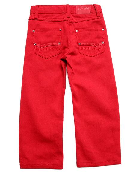 Parish - Boys Red Overdye Jeans (4-7)