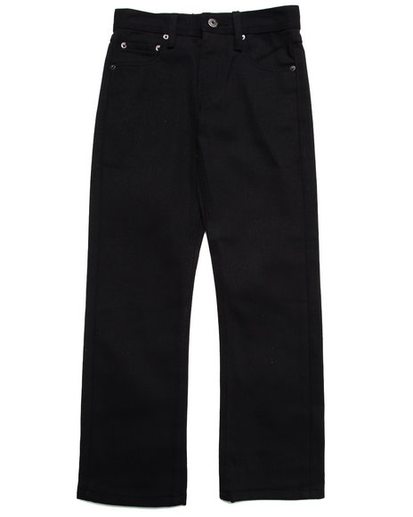 Parish - Boys Black Overdye Jeans (8-20)