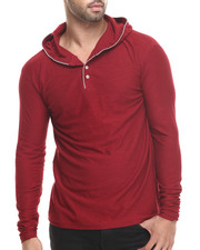 Buyers Picks - Zipper Trim Slub Jersey Pullover hoody