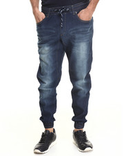 Akademiks - Denim drop crotch Jogger Pant