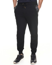 Akademiks - Washington Fleece Sweatpants w/ faux Ostrich detail