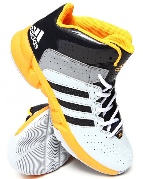 Adidas - Men Grey,White,Yellow Cross Em 3 Sneakers