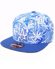American Needle - Los Angeles Dodgers Hilo Tropical Print Buckle Back Hat