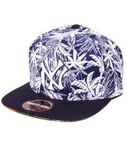 American Needle - New York Yankees Hilo Tropical Print Buckle Back Hat