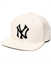 American Needle - New York Yankees Delirious Faux Perf leather Snapback Hat