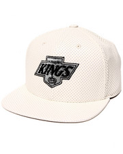 American Needle - L.A. Kings Delirious Faux Perf leather Snapback Hat