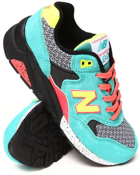 New Balance - Women Teal 580 Elite Edition Sneakers - $100.00