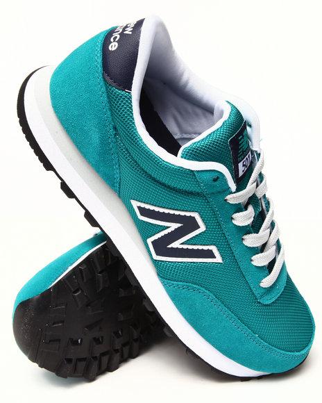 New Balance - Women Navy,Teal 501 Heritage Sneakers