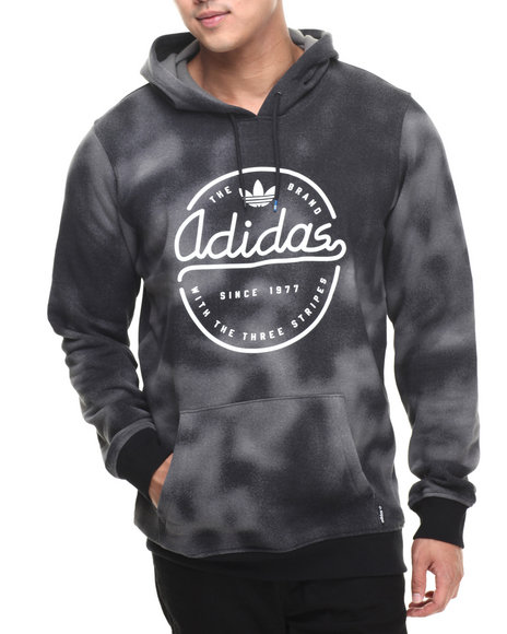 Adidas - Men Charcoal Dust Hoodie - $60.00