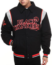 Stall & Dean - Black Yankees Canvas City Jacket