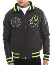 Stall & Dean - Sugar Kings Quilted Varsity League Jacket