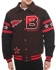Stall & Dean - Brown University Chenille Varsity Jacket