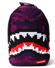 Bags - Pixel Shark Backpack