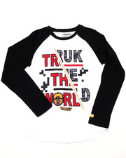 Boys - TRUK THE WORLD RAGLAN (8-20)