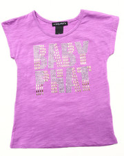 Tops - STUDDED LOGO TOP (4-6x)