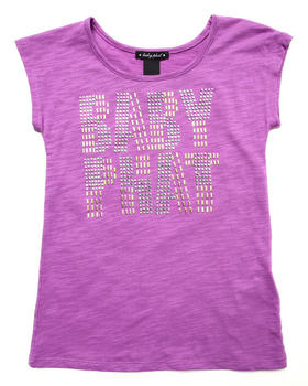 Baby Phat - STUDDED LOGO TOP (7-16)