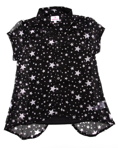 Dollhouse Black Fashion Tops