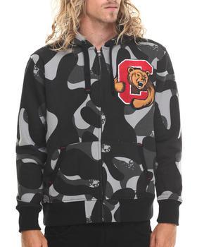 Stall & Dean - Ivy league Chenille Camo Full zip hoody
