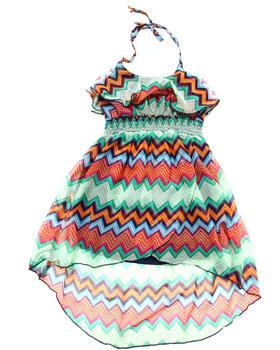 Dollhouse - STRIPED HALTER DRESS (4-6X)