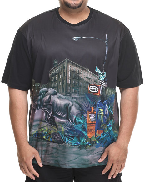 Ecko - Men Black Ecko Street T-Shirt (B&T)
