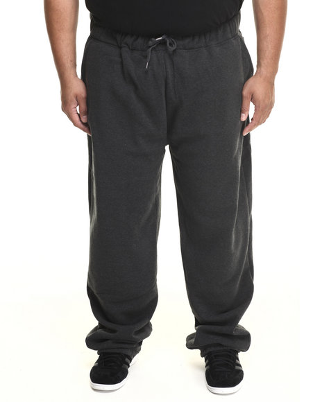 Ecko - Men Charcoal Basic Fleece Pant (B&T)