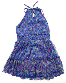 Dollhouse - FLORAL CHIFFON DRESS (7-16)
