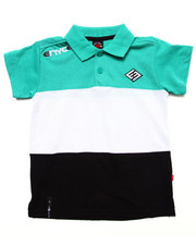 Boys - COLOR BLOCK POLO (4-7)