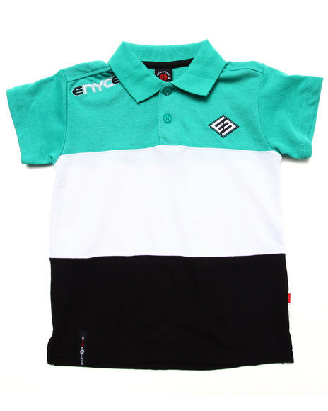 Enyce Teal Polos