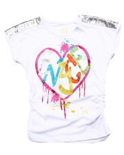 Tops - GRAFFITI LOVE TEE (7-16)