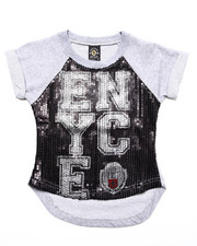 Tops - ENYCE SEQUIN TOP (4-6X)