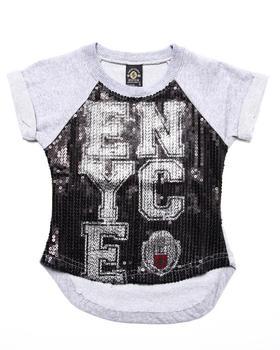 Enyce - ENYCE SEQUIN TOP (4-6X)