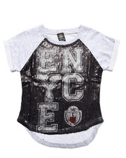 Tops - ENYCE SEQUIN TOP (7-16)