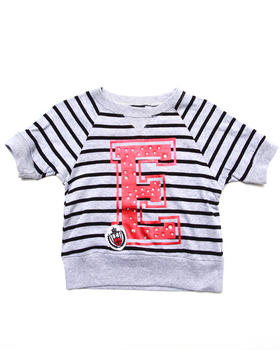 Enyce - STRIPED VARSITY TOP (7-16)