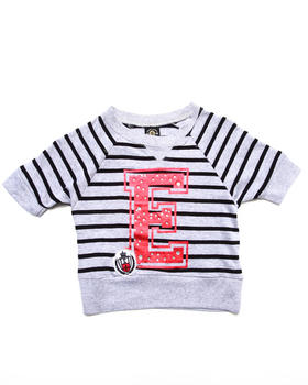 Enyce - STRIPED VARSITY TOP (4-6X)