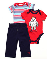 Boys - 2 PC CREEPERS & PANTS (NEWBORN)