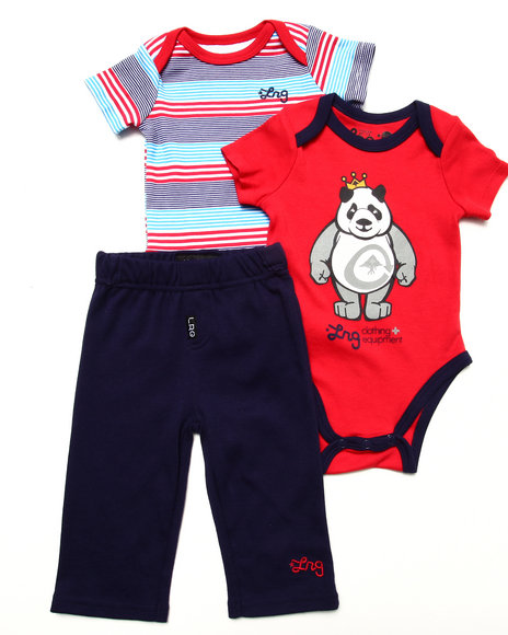 LRG - 2 PC CREEPERS & PANTS (NEWBORN)
