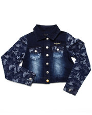 Baby Phat - CAMO DENIM JACKET (7-16)