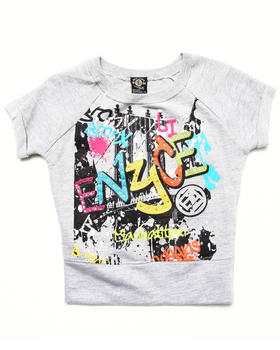 Enyce - FRENCH TERRY GRAFFITI TOP (7-16)