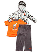 Boys - 3 PC SET - HOODY, TEE, & PANTS (INFANT)