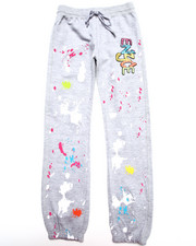 Sizes 7-16 - Big Kids - FRENCH TERRY GRAFFITI PANTS (7-16)